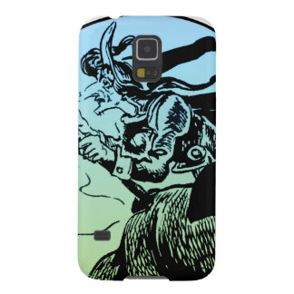 Witch on a broom galaxy s5 cover