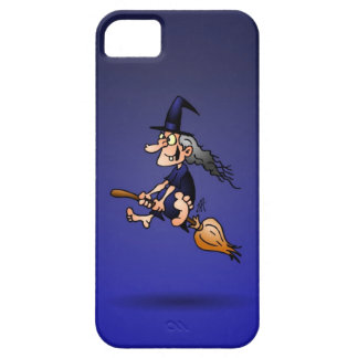 Witch on a broom iPhone SE/5/5s case