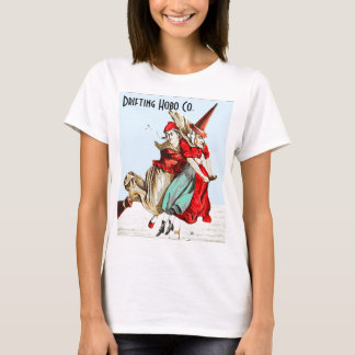 Witch on a broom shirt