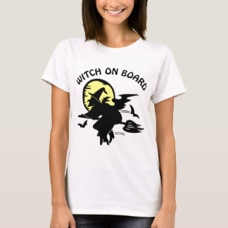 Witch On Board T-Shirt