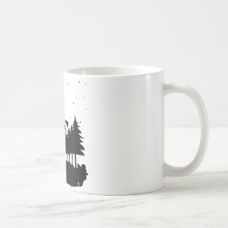 Witch on brooms - Halloween Coffee Mug
