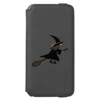 Witch On Her Broom iPhone 6/6s Wallet Case