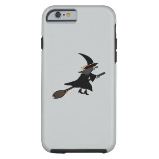 Witch On Her Broom Tough iPhone 6 Case