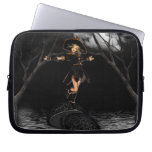 Witch on Toad Stool Laptop Sleeve