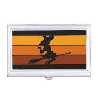 Witch - Orange Business Card Case