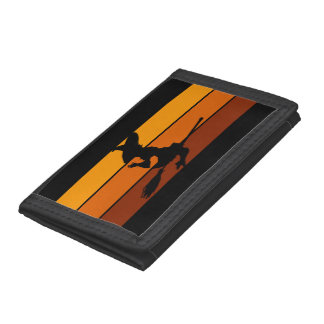 Witch - Orange Trifold Wallet