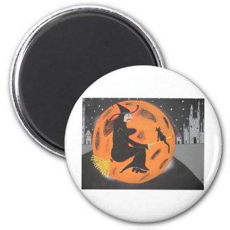 Witch Over Disneyland Magnet