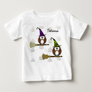 witch owl baby T-Shirt