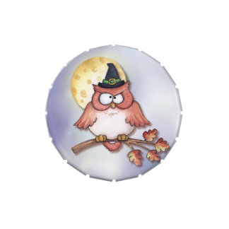 Witch Owl - Candy Tin