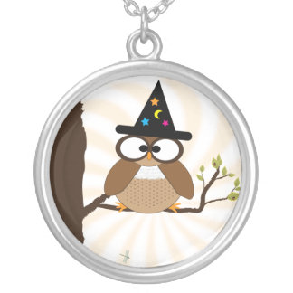 Witch Owl? Halloween Necklace