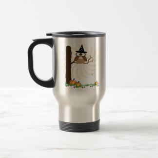 Witch Owl Hallowen Mug