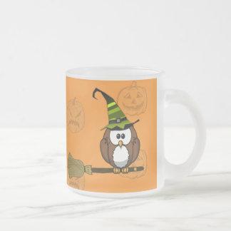 witch owl coffee mugs