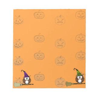 witch owl scratch pads
