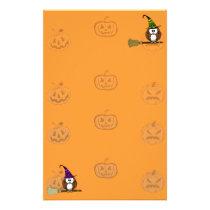 witch owl stationery