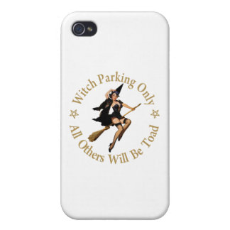 Witch Parking Only - All Others Will Be Toad! iPhone 4/4S Cover