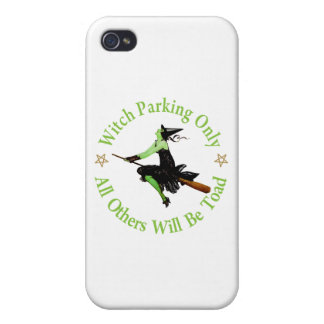 Witch Parking Only - All Others Will Be Toad! iPhone 4/4S Case