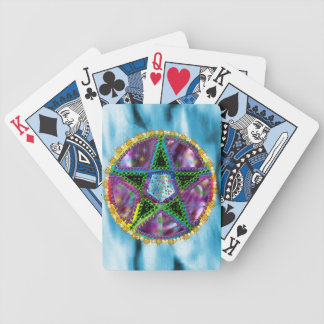 Witch Pentagram Bicycle Playing Cards