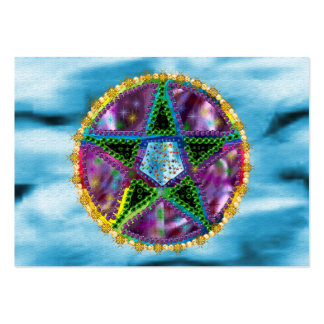 Witch Pentagram Large Business Cards (Pack Of 100)