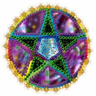 Witch Pentagram Cutout