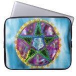 Witch Pentagram Laptop Computer Sleeve