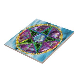 Witch Pentagram Tile