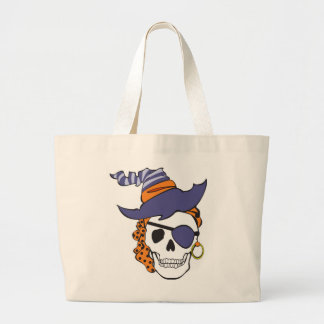 Witch Pirate Skull Bag
