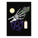 "Witch Playthings 5"" X 7"" Invitation Card"