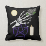 Witch Playthings Throw Pillow