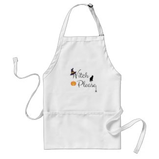 Witch Please Adult Apron