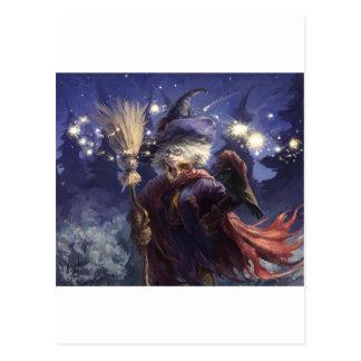 Witch Postcard