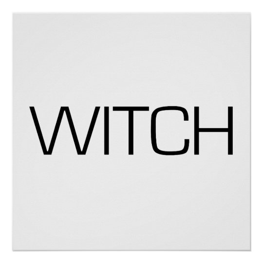 WITCH Poster