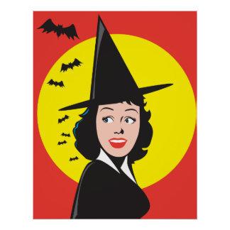 Witch Poster Print