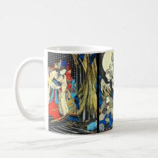 Witch Princess and Skeleton Specter 1844 Coffee Mug