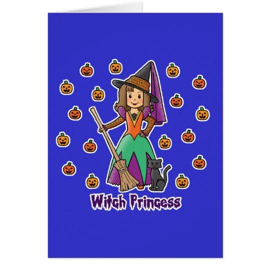 Witch Princess Card