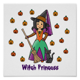 Witch Princess Poster