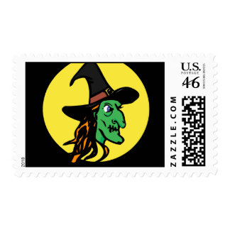 Witch Profile Postage