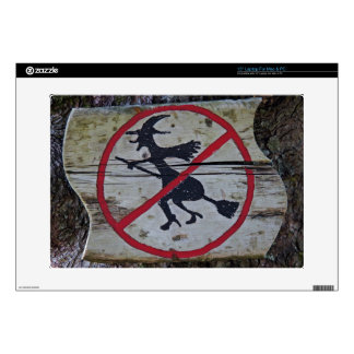 """Witch-Prohibition 15"""" Laptop Skins"""