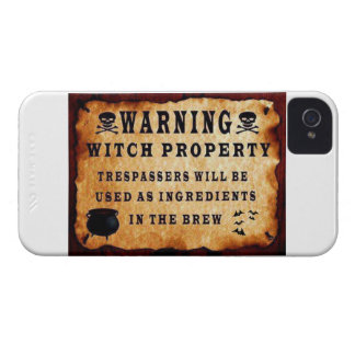 Witch Property iPhone 4 Cover