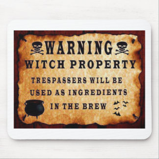Witch Property Mouse Pad