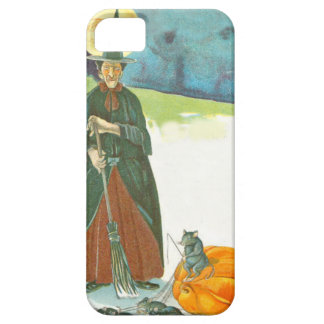 Witch Pumpkin Broom Man In The Moon Mouse iPhone SE/5/5s Case