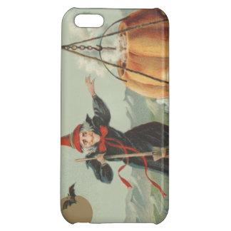 Witch Pumpkin Cauldron Black Cat Spell iPhone 5C Cases