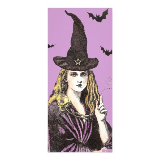Witch rack card