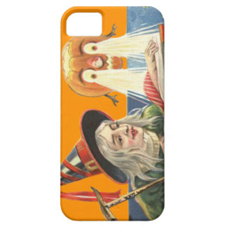 Witch Reading Jack O Lantern Pumpkin iPhone 5 Cases