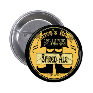 Witch s Brew Pinback Buttons