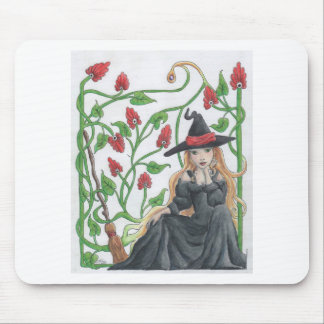 Witch s Broom Mouse Pad