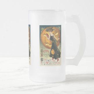 Witch s Dance Vintage Halloween Card Mug