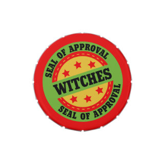 Witch Seal of Approval Jelly Belly Tins