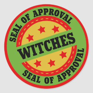 Witch Seal of Approval Sticker