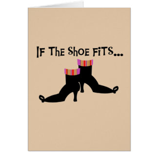 Witch Shoes T-shirts and Gifts Card