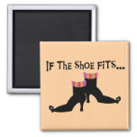 Witch Shoes T-shirts and Gifts Fridge Magnets